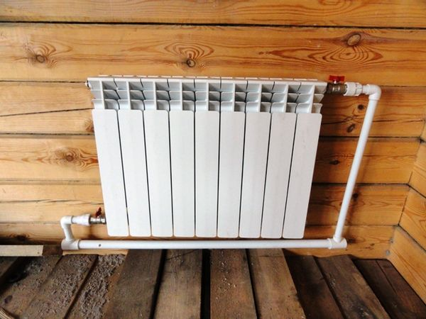 обвязка радиатора полипропиленом
