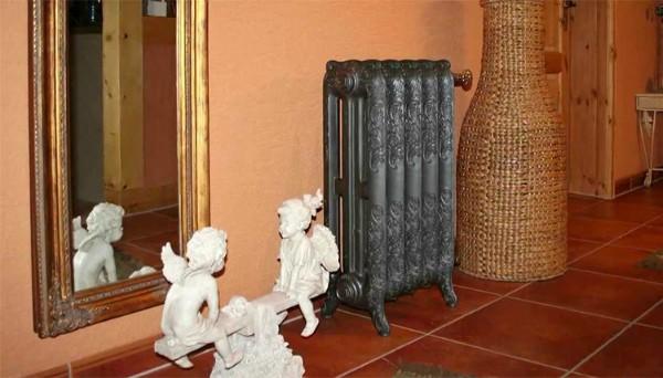 Радиатор Nostalgia (retro) в интерьере