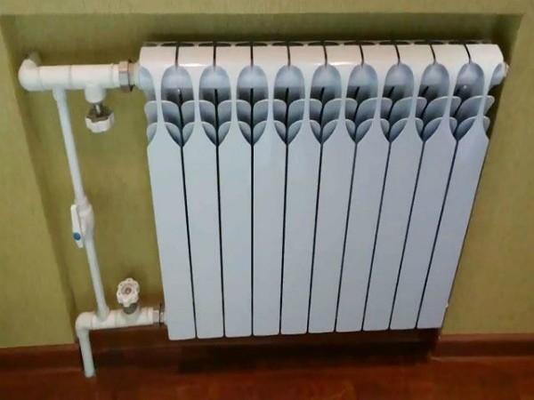Алюминиевая батарея отопления
