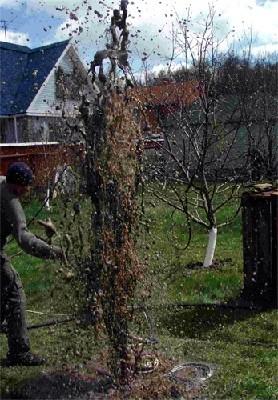 Как прочистить скважину, если она засорилась