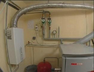 Оборудование для отопления дома газом