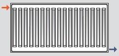 Способ диагонального подключения радиаторов