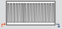 Способ нижнего подключения радиаторов отопления