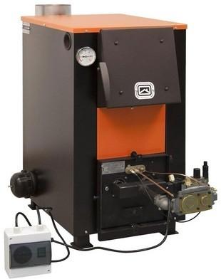 комбинированный отопительный котел дрова газ Теплодар Куппер