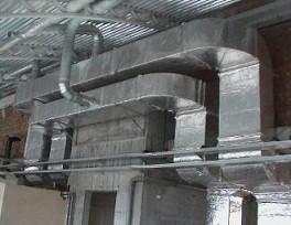 Теплоизоляция воздуховодов