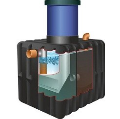 Механическая очистка сточных вод с помощью септика