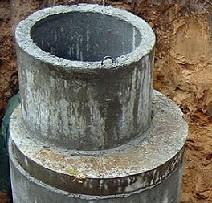 Сливная яма из бетонных колец в частном доме