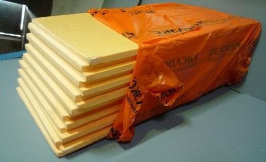 Пенополистирол - отличный материал в утеплении пола дома