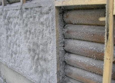 Утепление дома из бруса снаружи пенополиуретаном