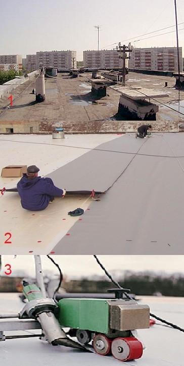 Мембрана для гидроизоляции крыши гаража