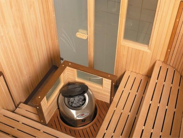 Электрокаменка в небольшом помещении