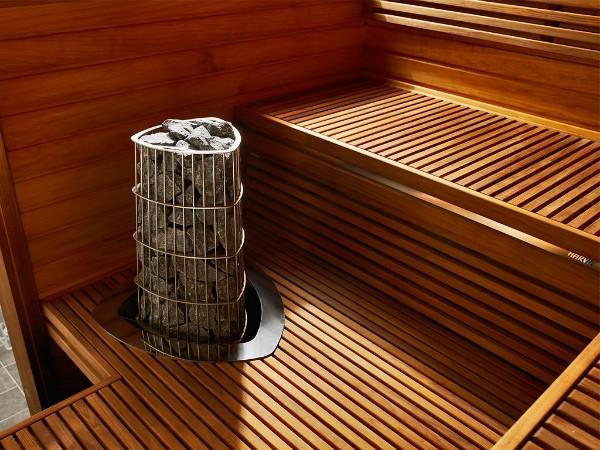 Электропечь для бани и сауны, на которую можно поливать воду