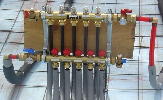 Сшитый полиэтилен для системы отопления
