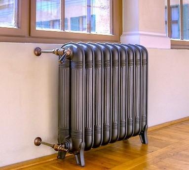 Чугунные радиаторы отопления в квартире
