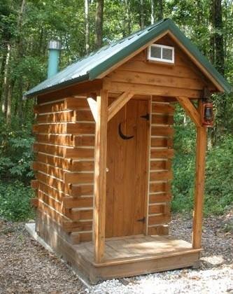 Как сделать дачный туалет без применения выгребной ямы