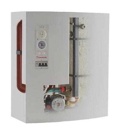 электрический котел с циркуляционным насосом Dakon