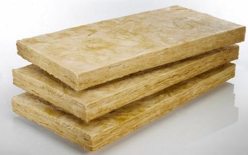 минеральная вата - материал с хорошей паропроницаемостью