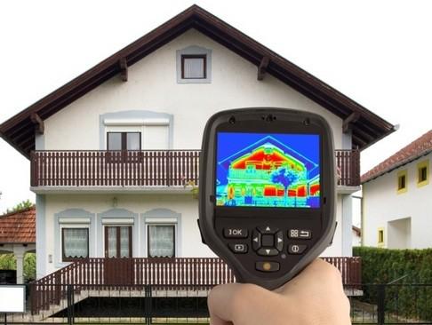 Как происходит обследование частного дома тепловизором
