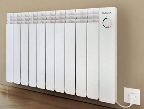 масляные настенные электрические радиаторы Dukven
