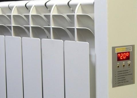 Настенный электрический радиатор с терморегулятором