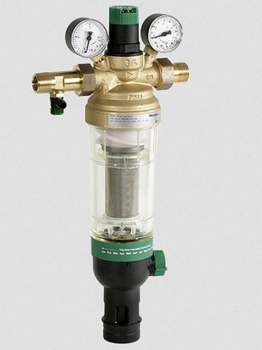 Редуктор с фильтром и манометром для водоснабжения