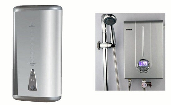 выбор проточного или накопительного водорнагревателя