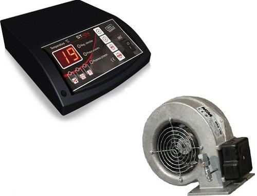 Автоматика, вентилятор и блок управления TECH ST24