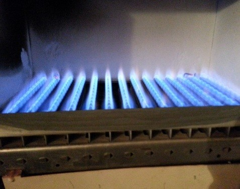 чистка гррелки газового котла