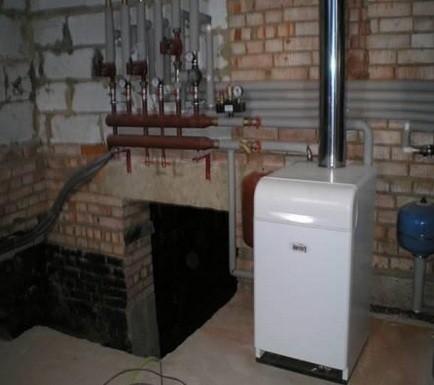 выбор одноконтурного напольного газового котла отопления