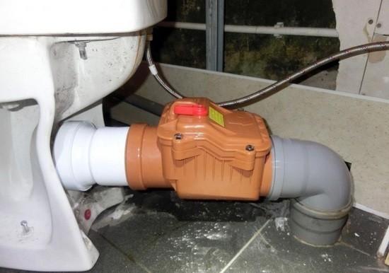 зачем нужен обратный клапан канализации