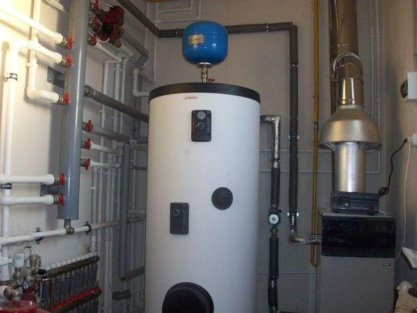 теплоаккумулятор для газового котла отопления