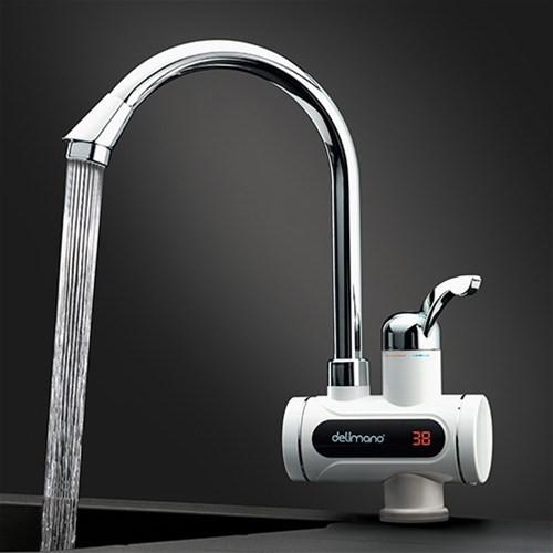 Мгновенный цифровой водонагреватель Делимано с дисплеем
