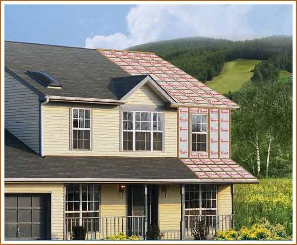 Как правильно уложить ветроизоляцию для стен каркасного дома
