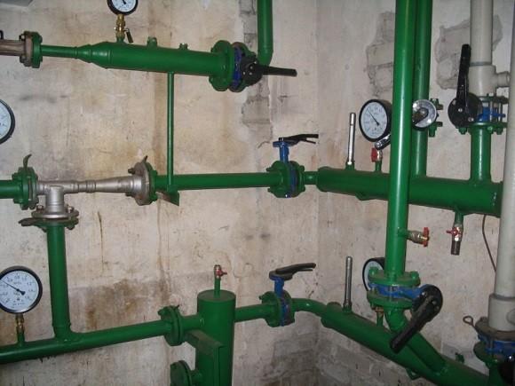 перепад давления системы отопления