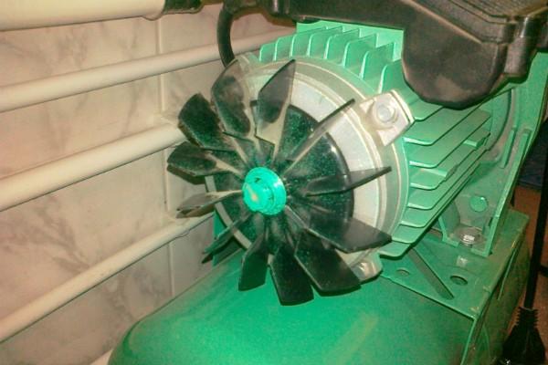 Крыльчатка двигателя насосной станции