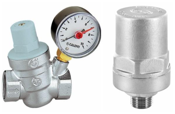 Редуктор давления и гаситель гидроударов