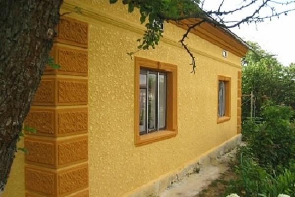 Декоративная штукатурка фасада