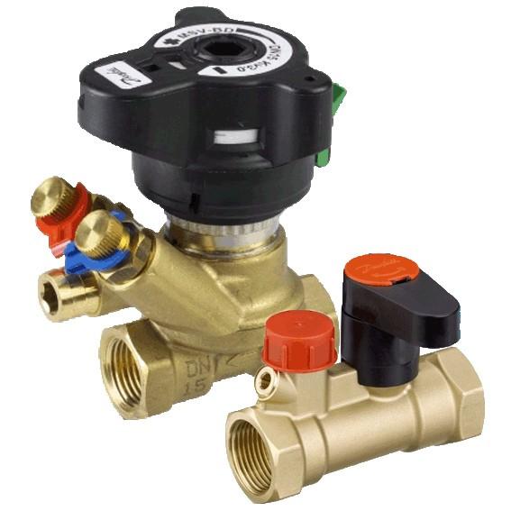 разнообразие балансировочных клапанов для системы отопления