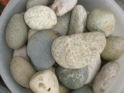 Внешний вид речных камней