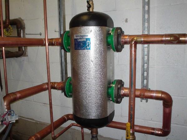 Гидравлический разделитель в системе отопления