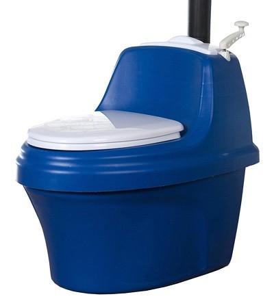 Внешний вид торфяного туалета питеко