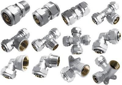 фитинги для металлопластиковых труб в системах отопления и водоснабжения