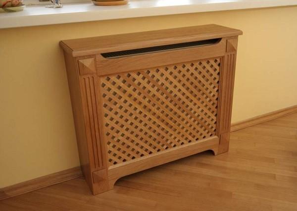деревянный экран