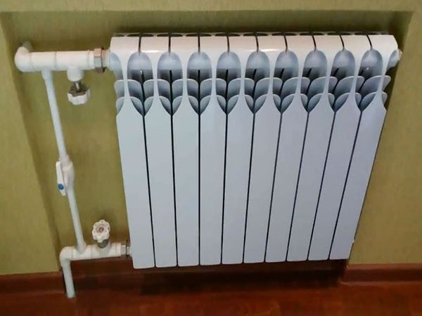 Радиатор в квартире