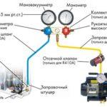 подкоючение вакуумного насоса к кондиционеру