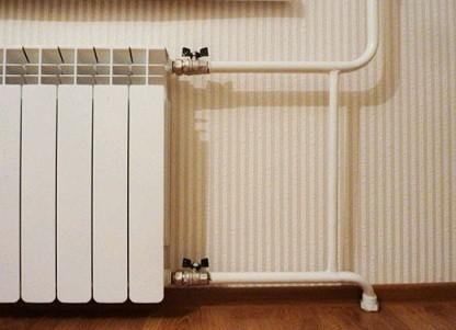 Работы по замене батарей отопления