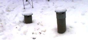 Замерзла канализация
