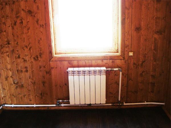 Радиатор в однотрубной отопительной системе