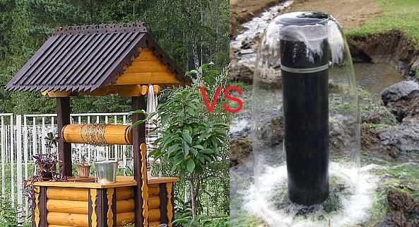 Что лучше скважина или колодец?