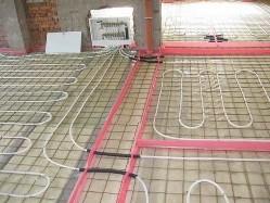 Технология укладки водяного теплого пола